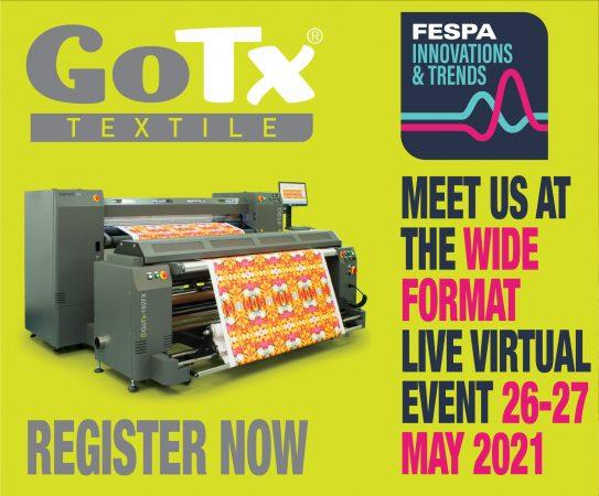 Gotx Textile se presenta en FESPA Innovations & Trends session!!!